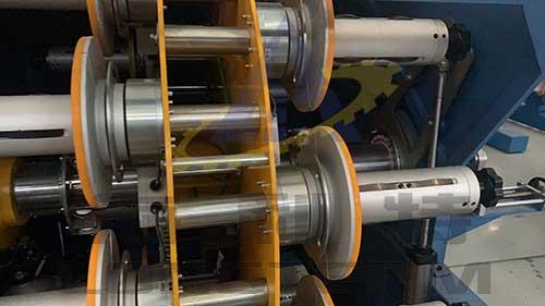 Aromatic Polyamid fibre armorin machine